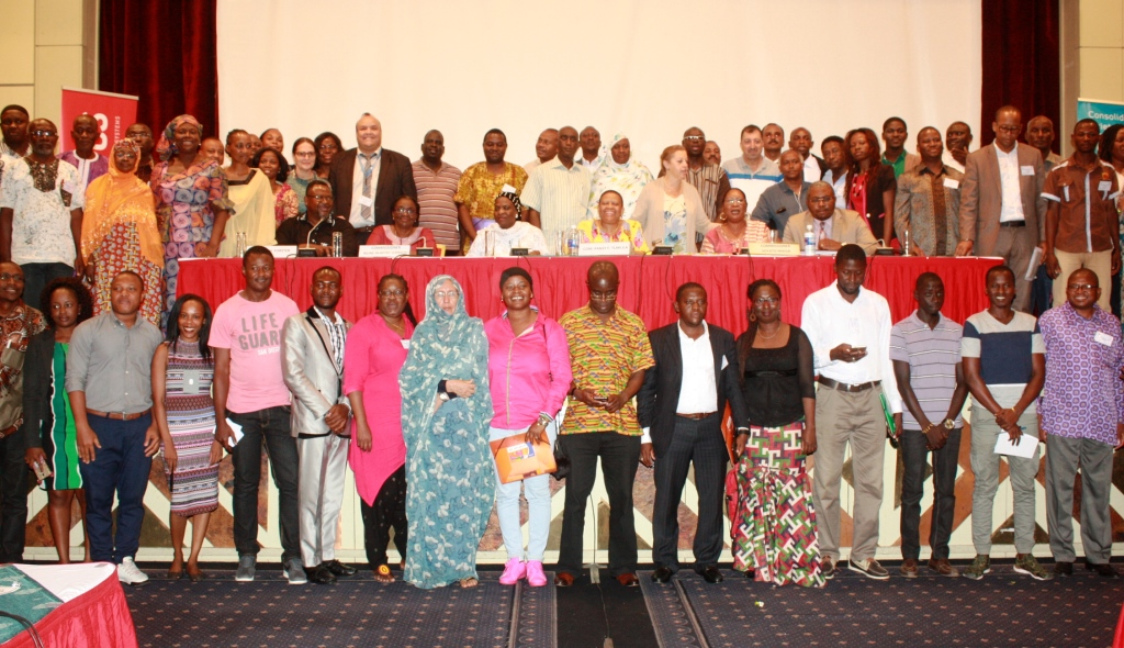 Group picture of  NGO forum at Kairaba Hotel- The Gambia